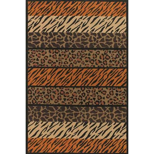 Doctor Phillips Brown Area Rug Rug Size: 9' x 13'