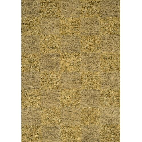 Strata Gold Area Rug Rug Size: Rectangle 7'9