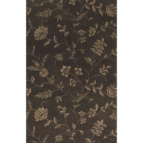Griffin Brown/Tan Area Rug Rug Size: Rectangle 7'9