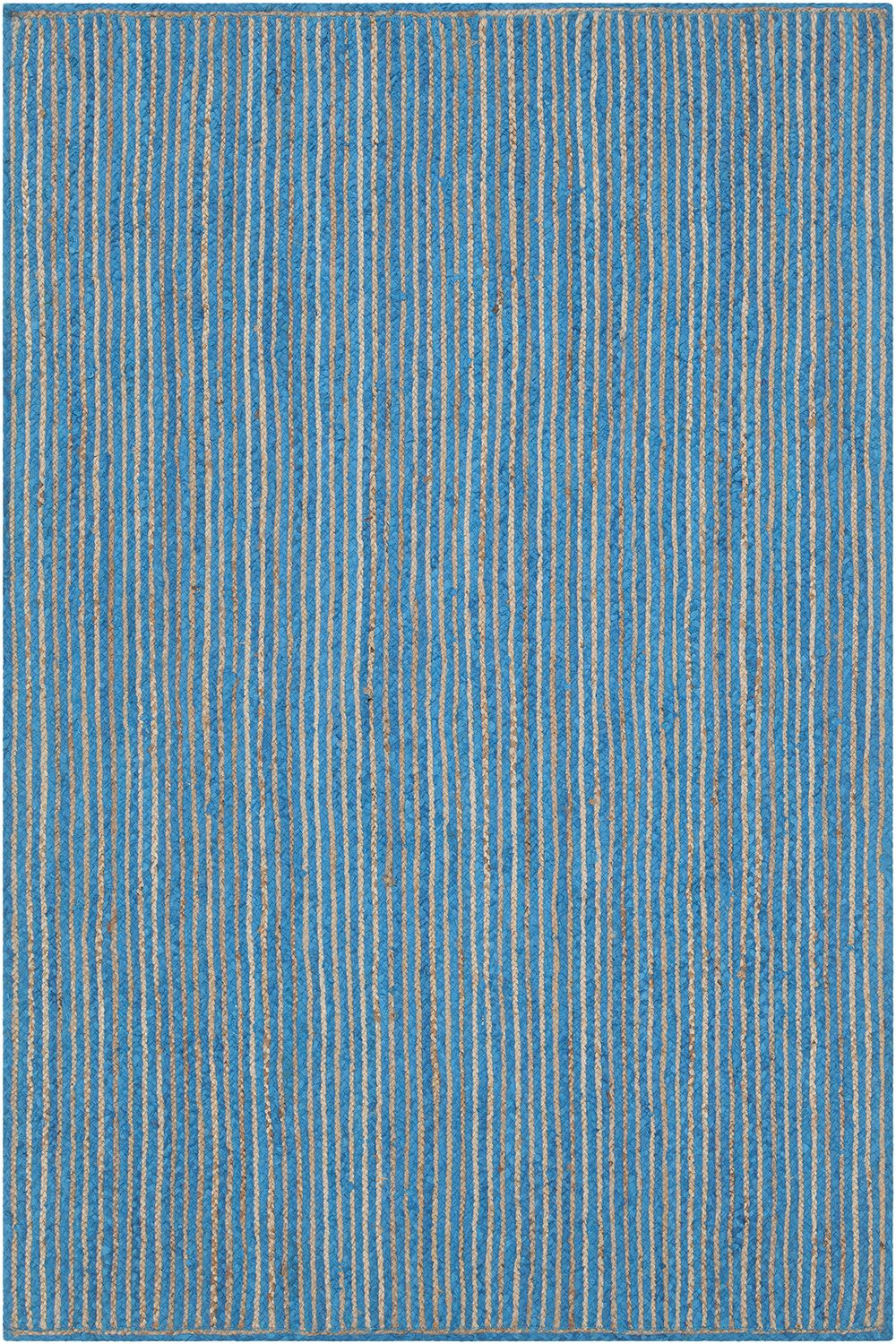 Yother Textured Contemporary Blue Area Rug Rug Size: 7'9
