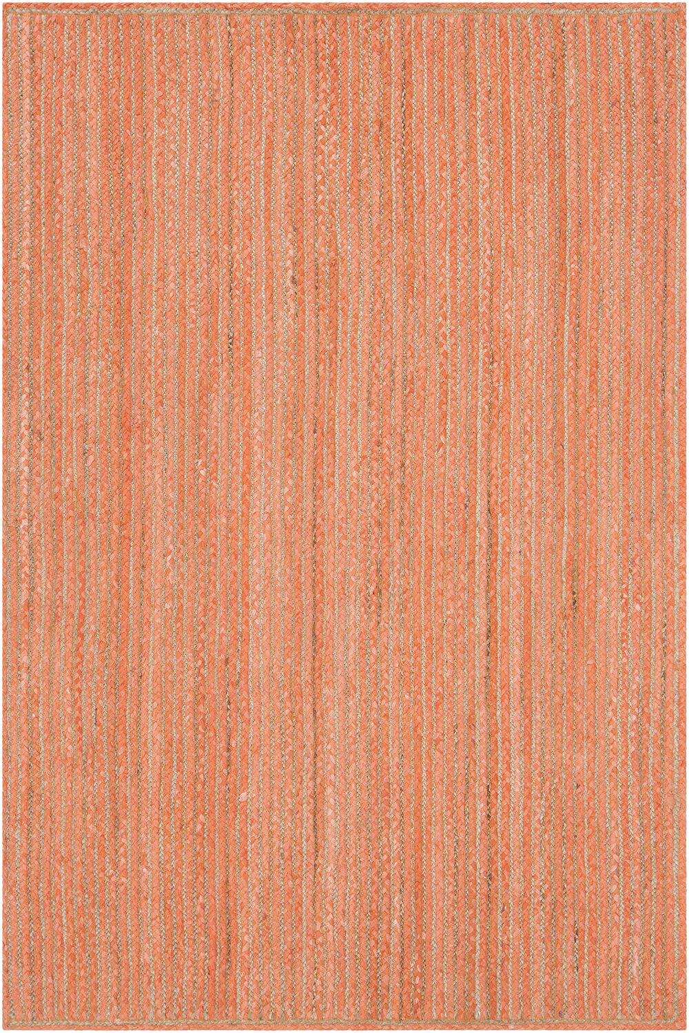 Yother Textured Contemporary Orange Area Rug Rug Size: 3' x 5'