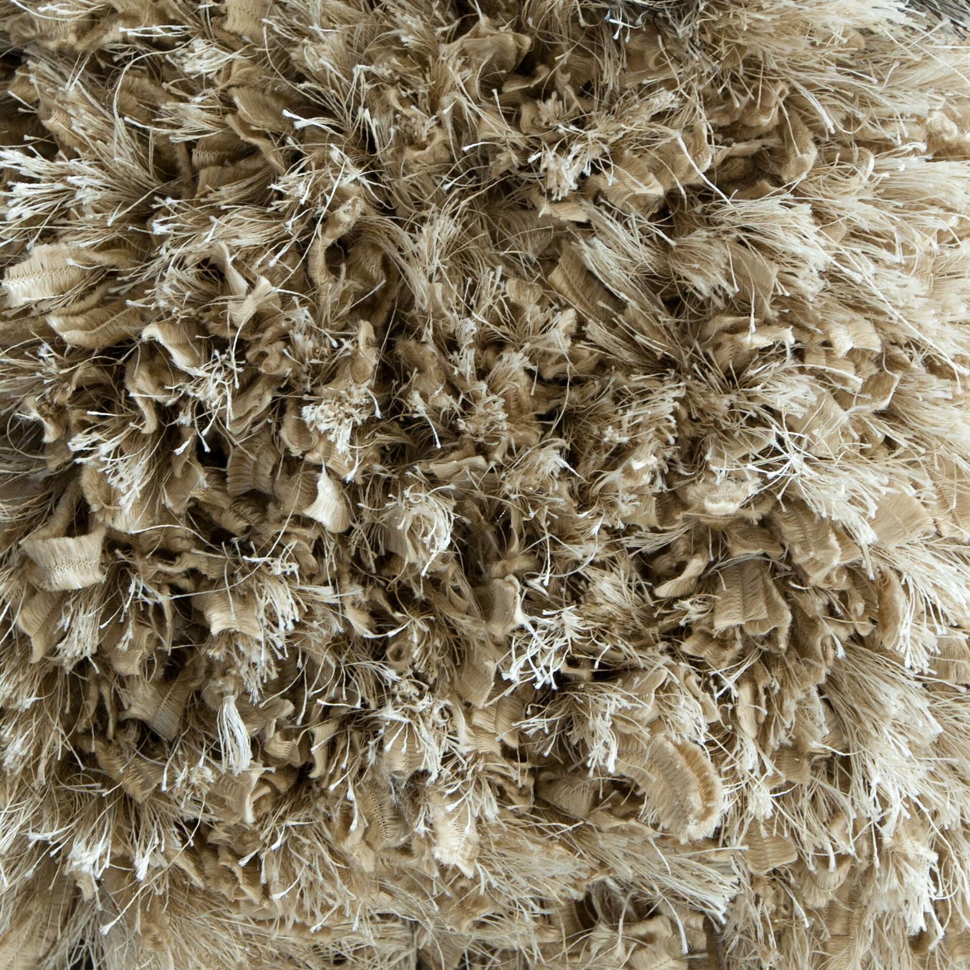 Mairead Textured Shag Tan Area Rug Rug Size: Rectangle 7'9
