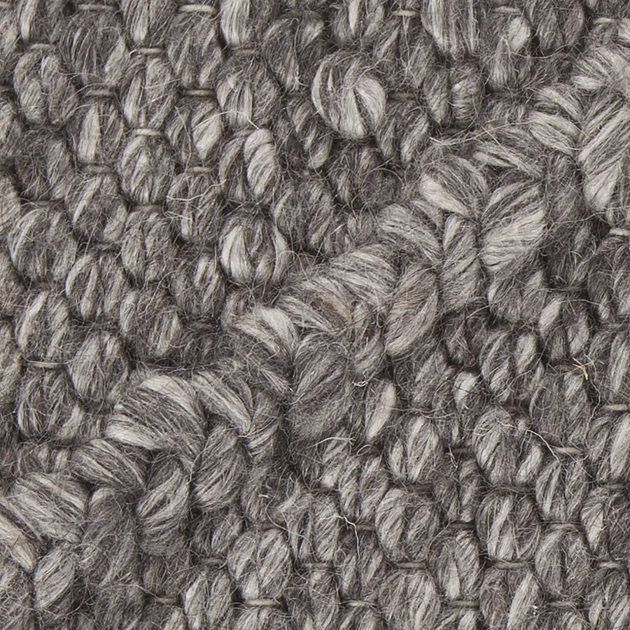 Arend Textured Contemporary Charcoal Area Rug Rug Size: 7'9