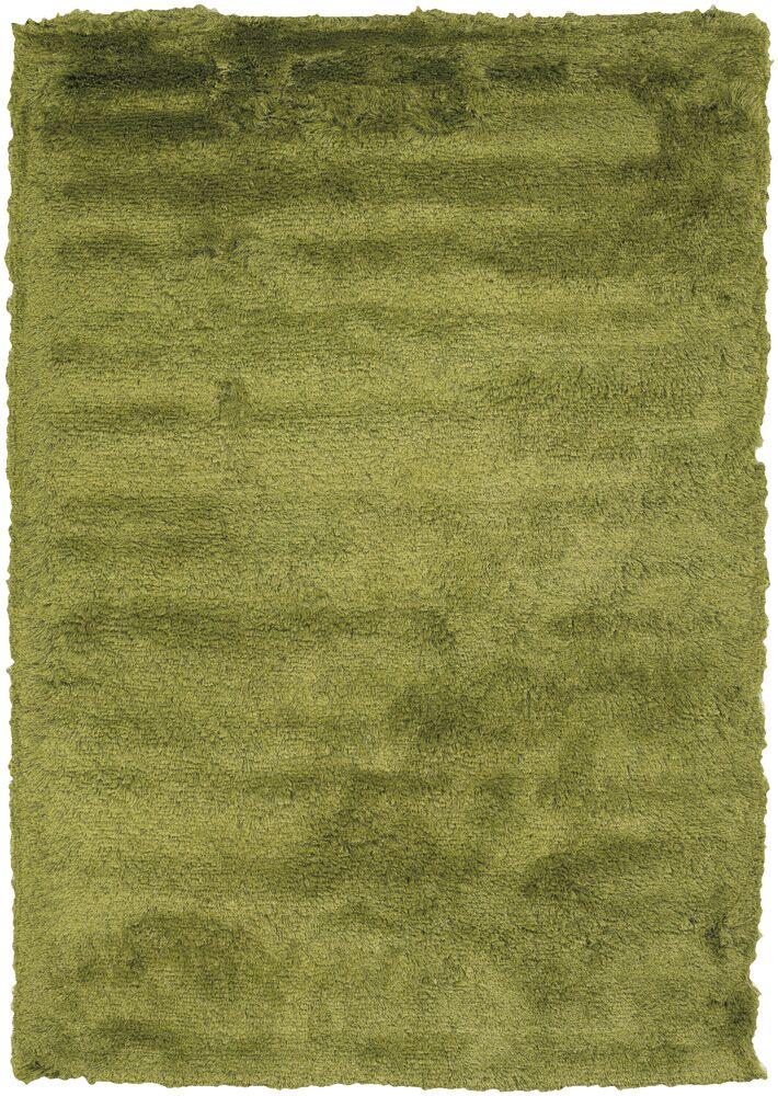 Shaylene Textured Contemporary Green Area Rug Rug Size: 5' x 7'6