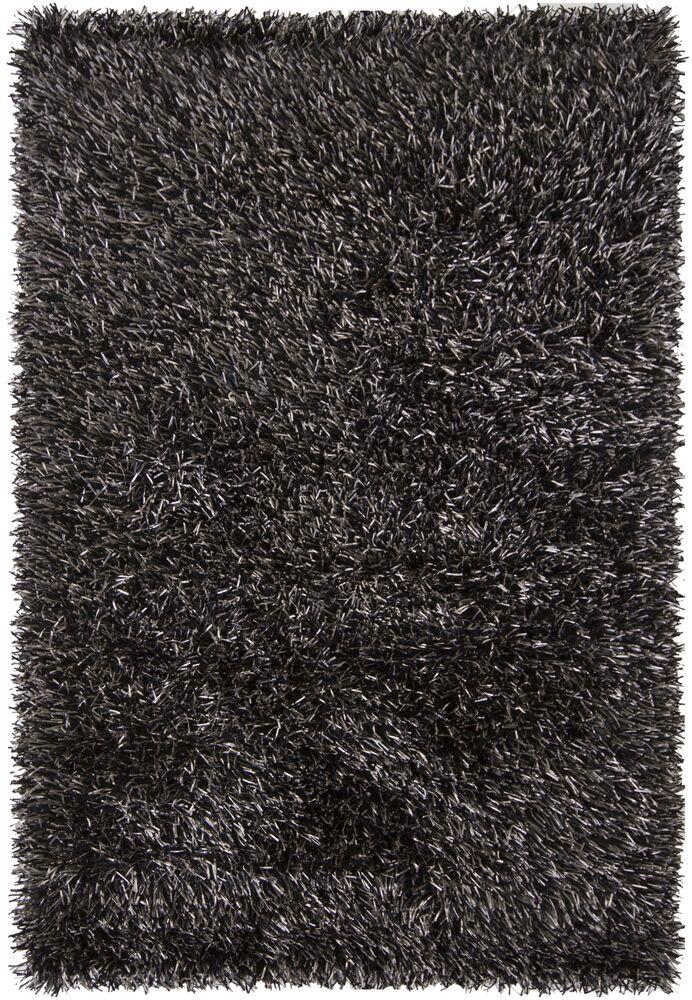 Zhen Hand Woven Black Rug Rug Size: 5' x 7'6