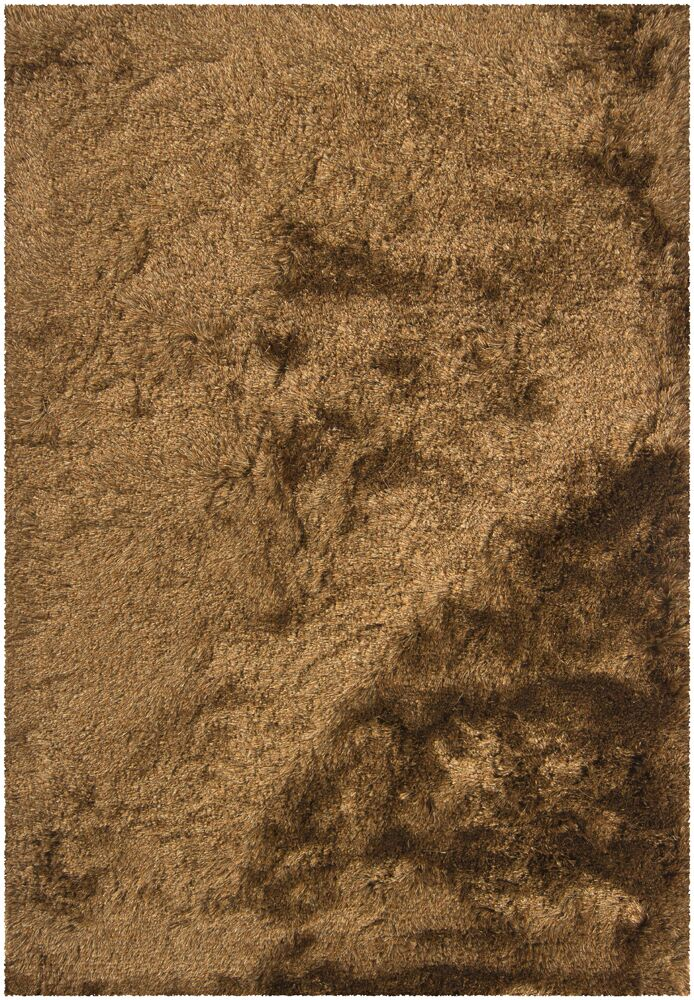Levy Dark Brown/Tan Area Rug Rug Size: 5' x 7'6