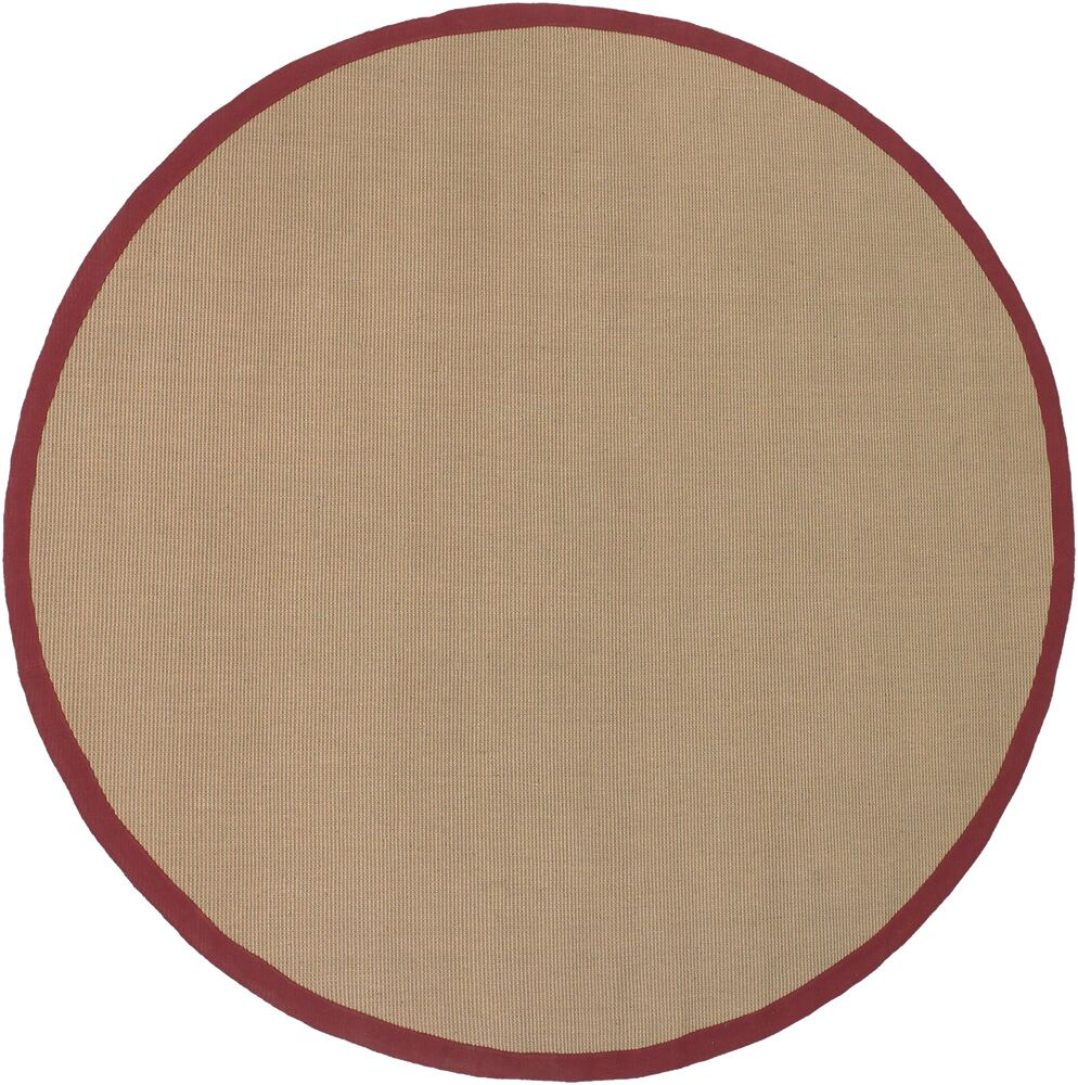 Eastwood Red/Tan Area Rug Rug Size: Rectangle 8' x 10'