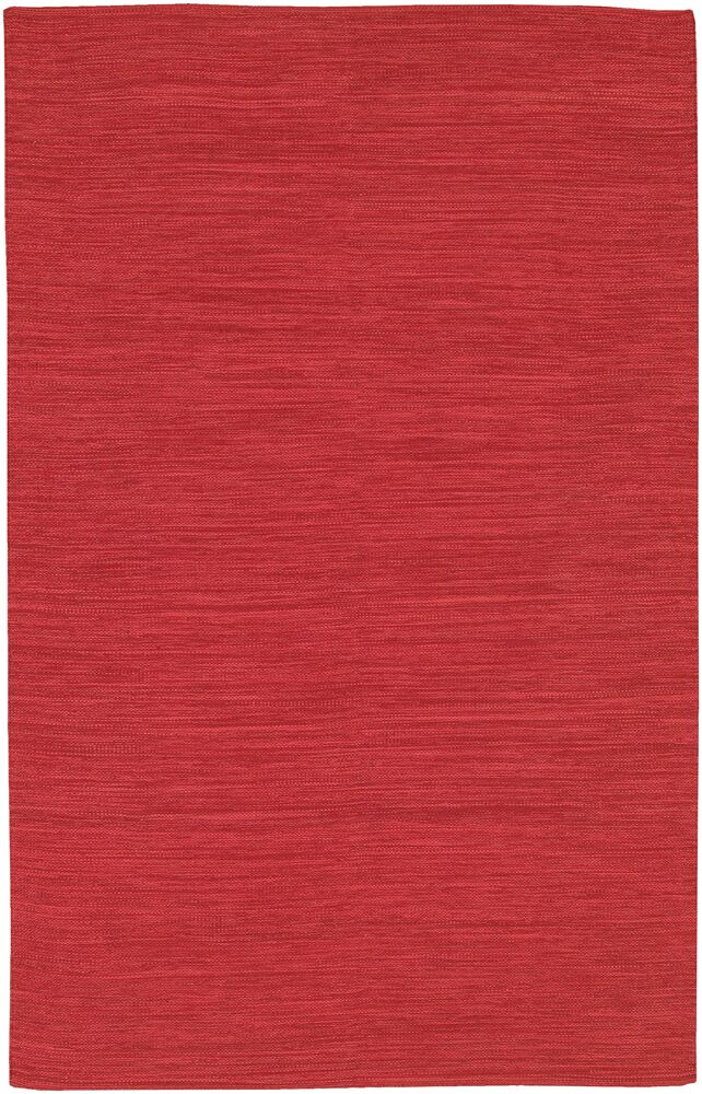 Elbeni Hand Woven Cotton Red Area Rug Rug Size: 5' x 7'6