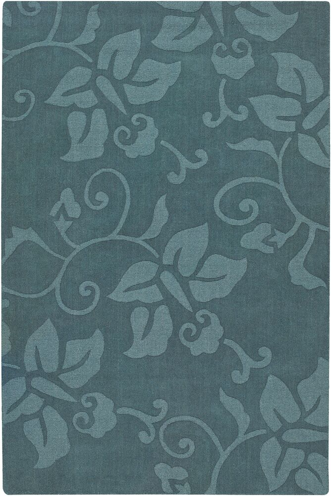 Chloe Blue Area Rug Rug Size: Rectangle 7' x 10'