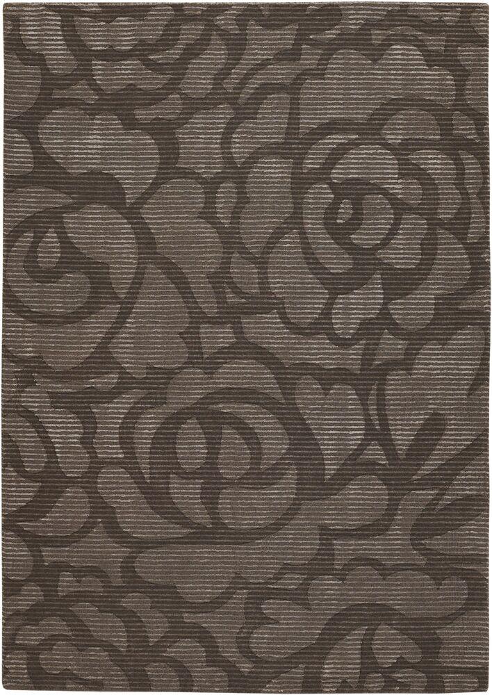 Brewington Chocolate Area Rug Rug Size: 2' x 3'
