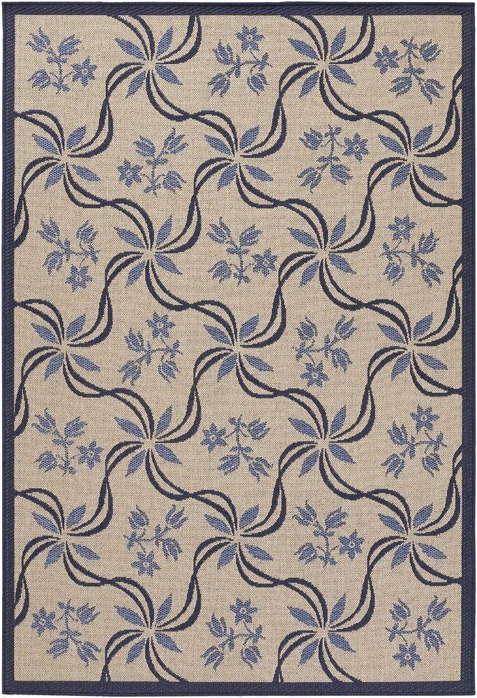 Leibowitz Light Purple/Tan Area Rug Rug Size: Rectangle 5'2