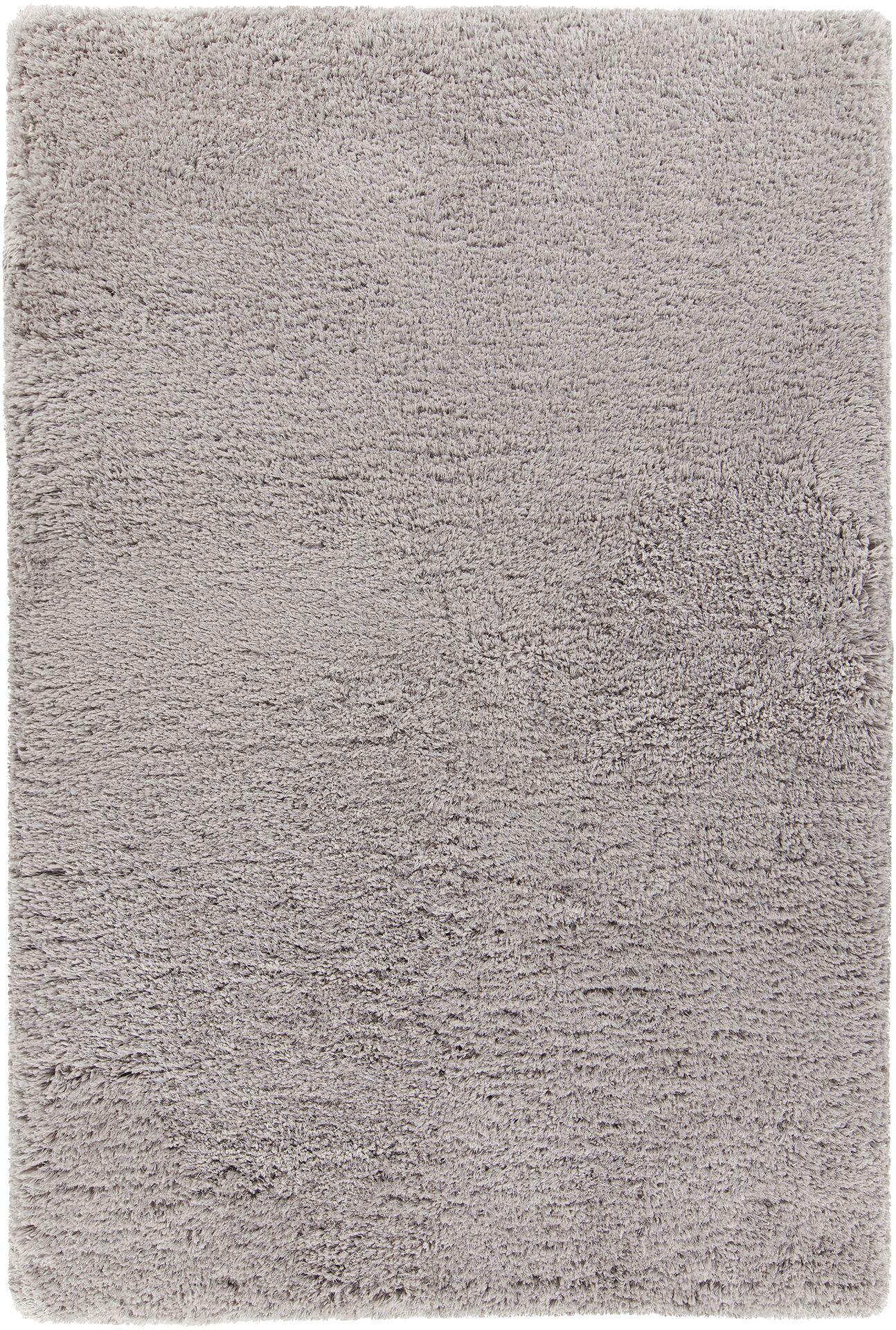 Garretson Hand-Woven Silver Area Rug Rug Size: 9' x 13'