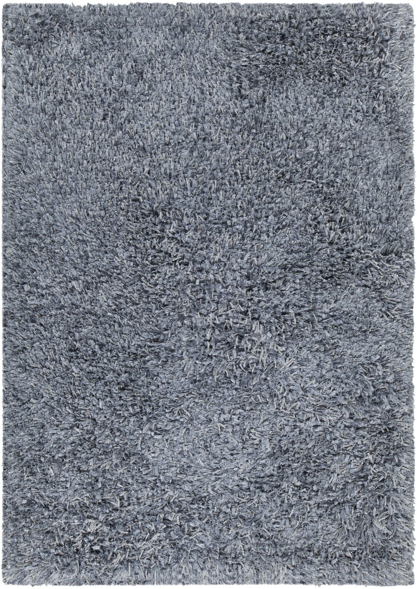 Funkhouser Hand-Woven Gray Area Rug Rug Size: 7'9