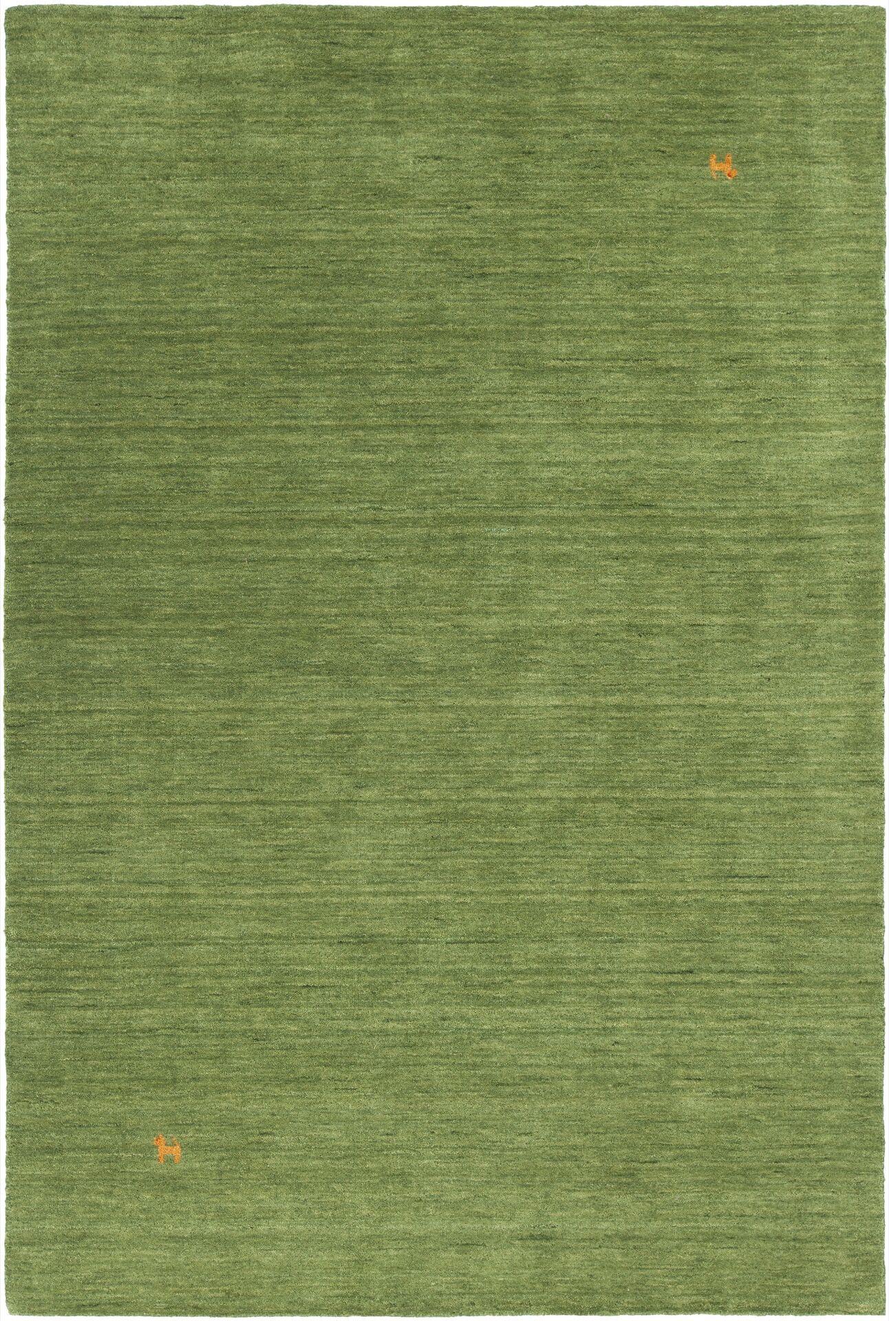 Stockstill Handmade Green Area Rug Rug Size: Round 7'9