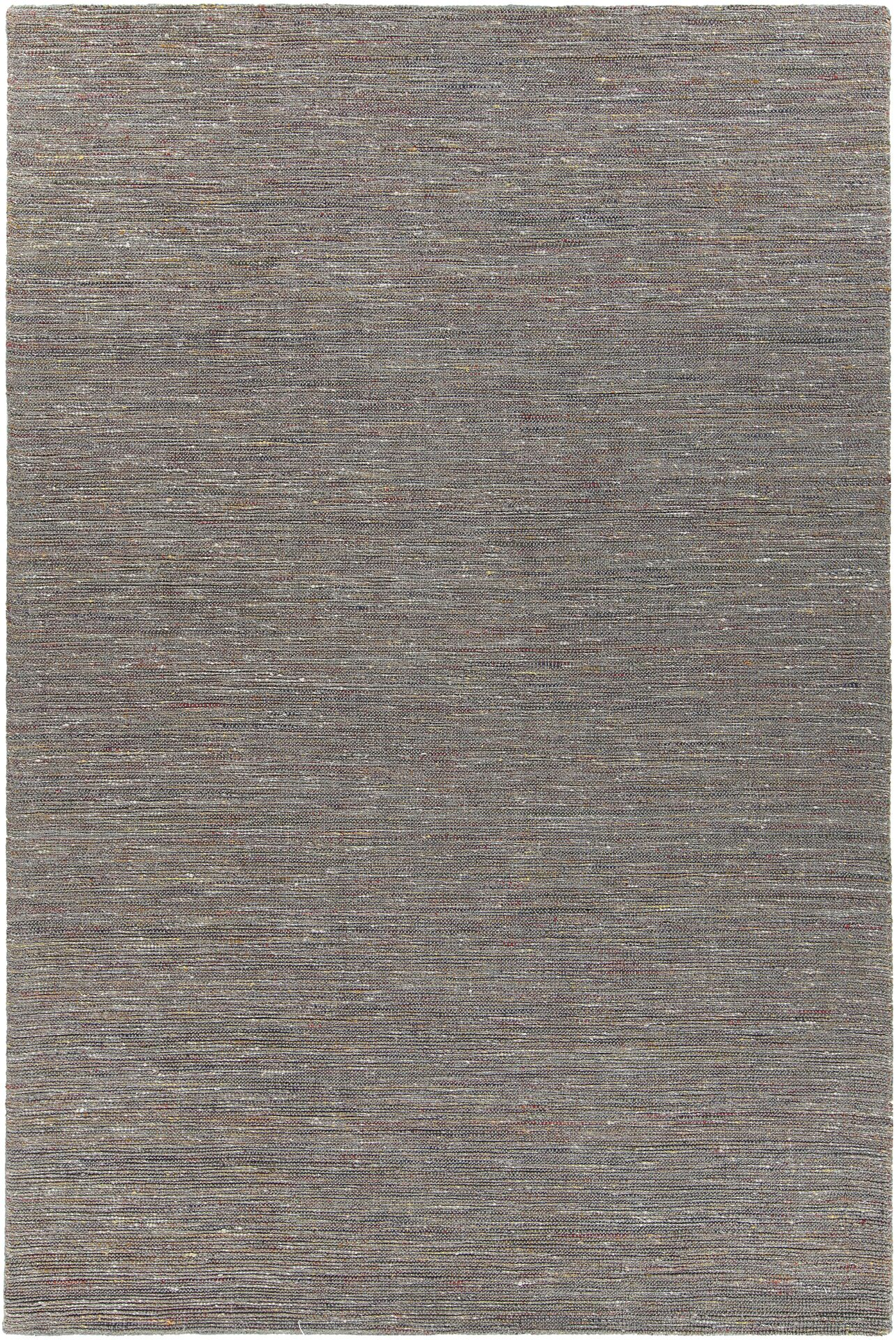 Laxford Hand-Woven Gray Area Rug Rug Size: 7'9