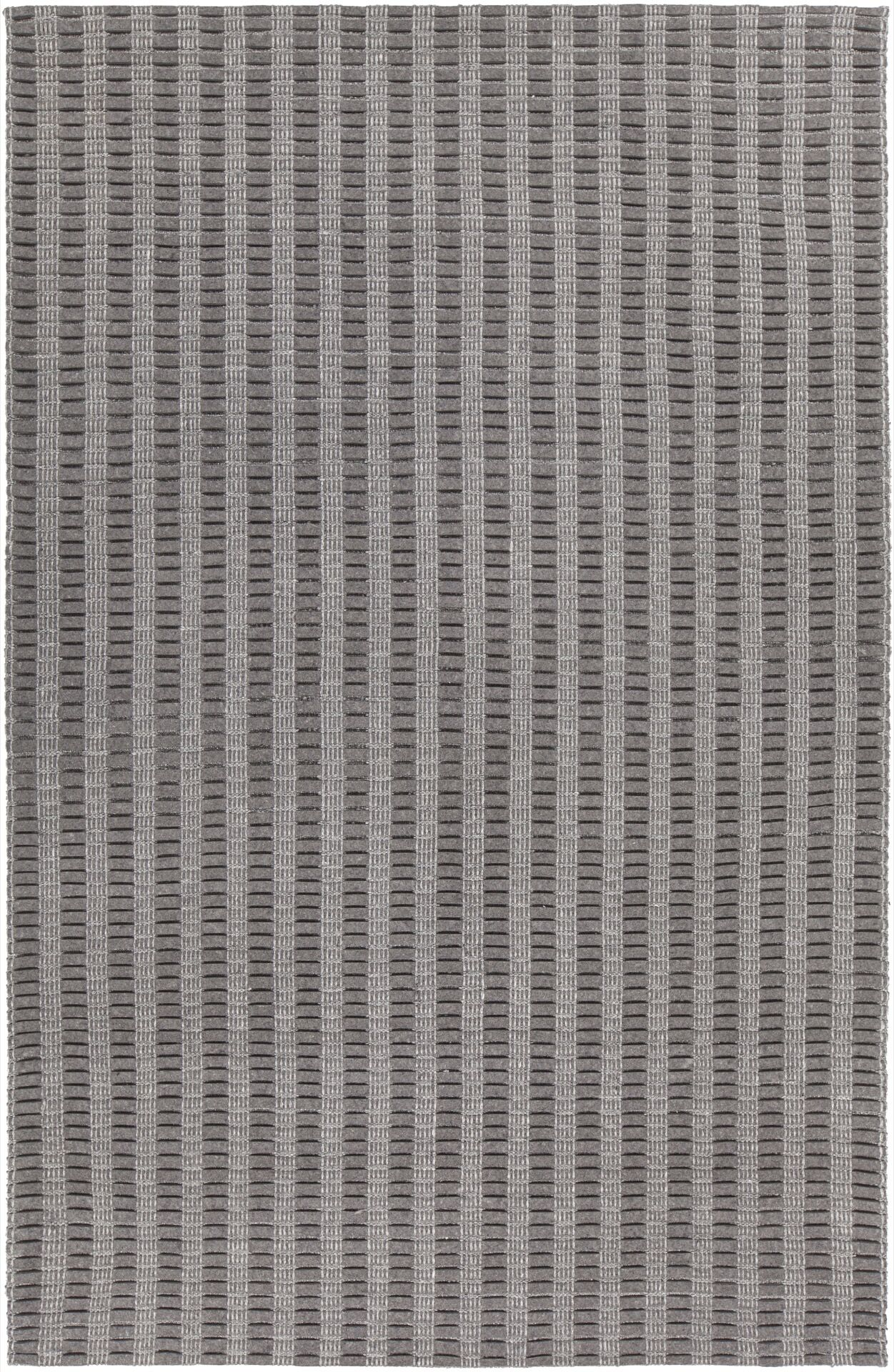 Allerdale Hand-Woven Gray Area Rug Rug Size: 7'9