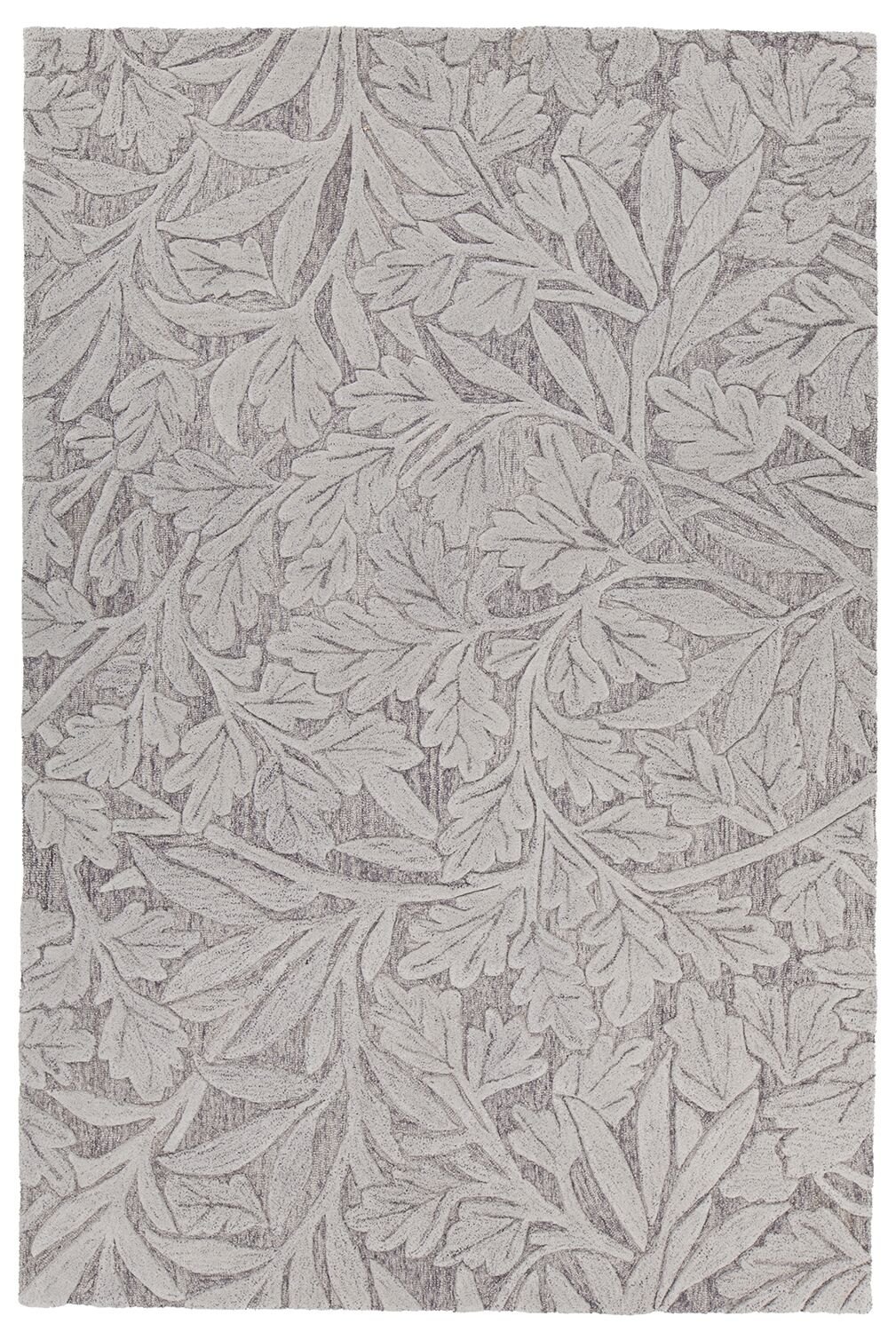 Boothe Hand-Tufted Gray Area Rug Rug Size: 9' x 13'