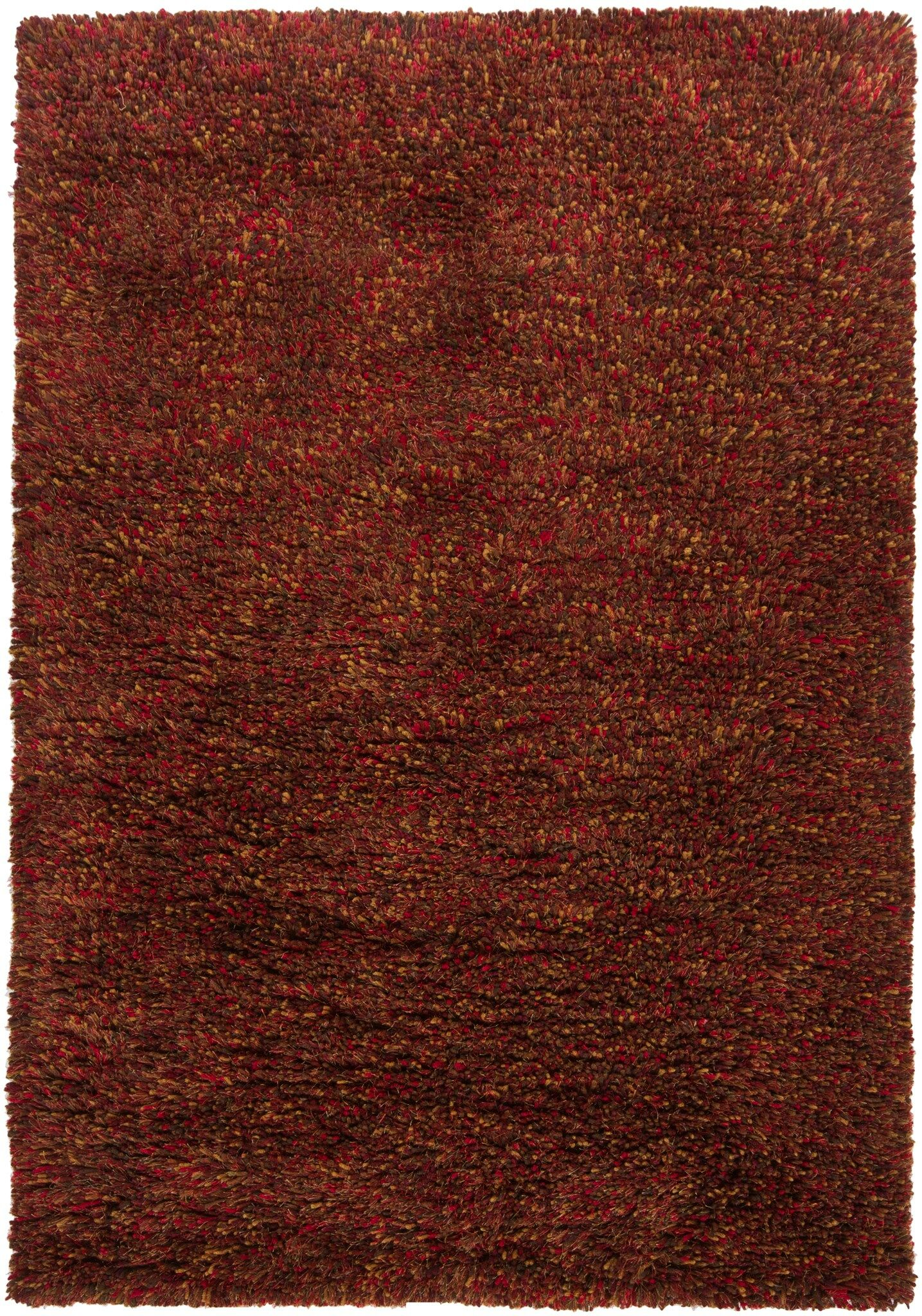 Aviles Red Area Rug Rug Size: Rectangle 7'9