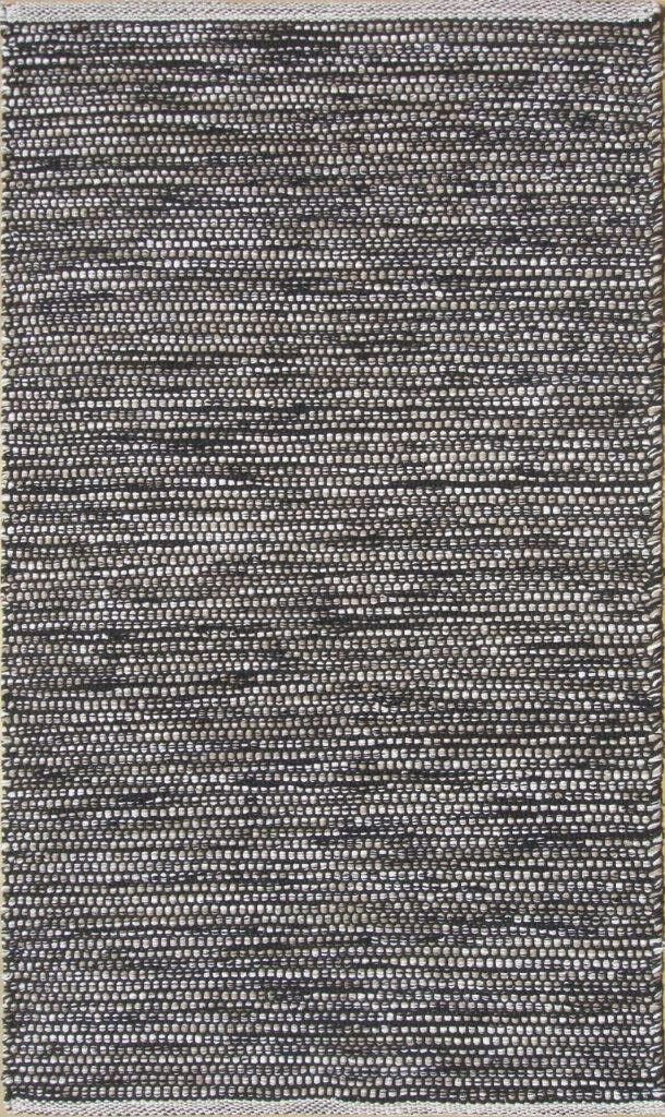 Parker Hand-Woven Gray/Brown Area Rug Rug Size: Rectangle 9' x 13'
