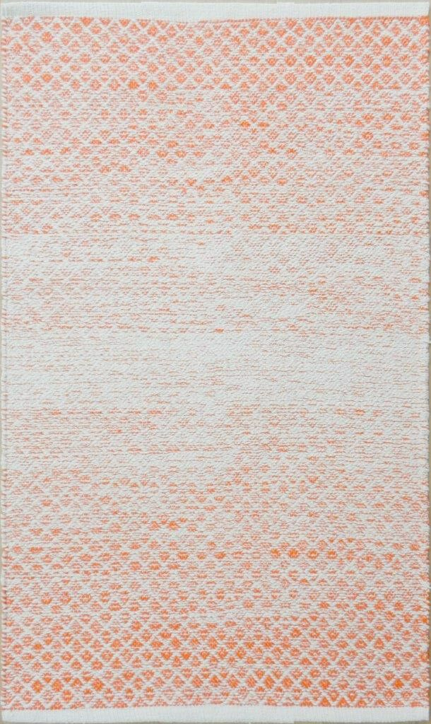 Parker Hand-Woven Orange Area Rug Rug Size: Rectangle 9' x 13'