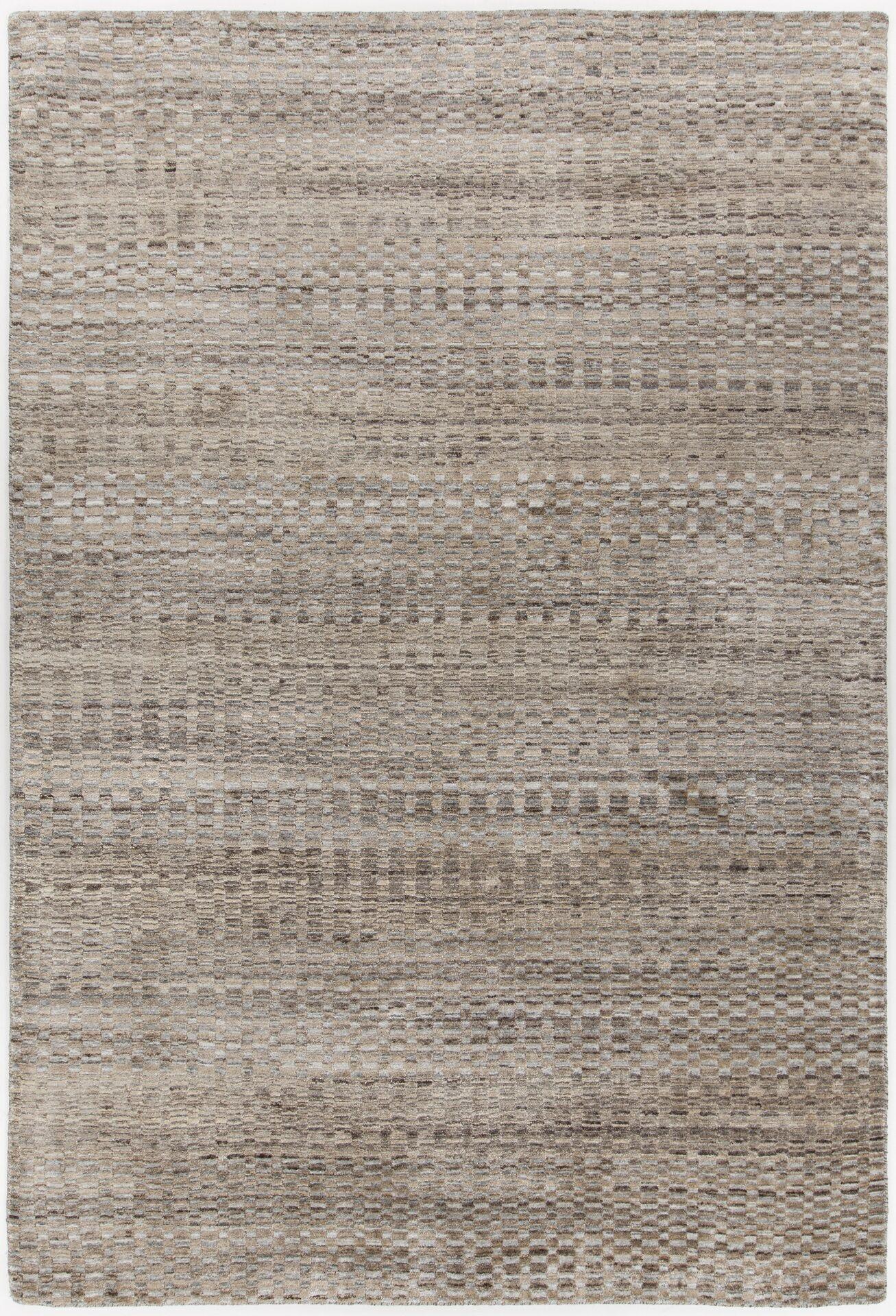 Hernan Hand-Woven Brown Area Rug Rug Size: Rectangle 5' x 7'6
