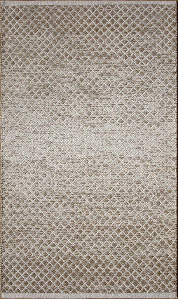 Parker Hand-Woven Brown Area Rug Rug Size: Rectangle 5' x 7'6