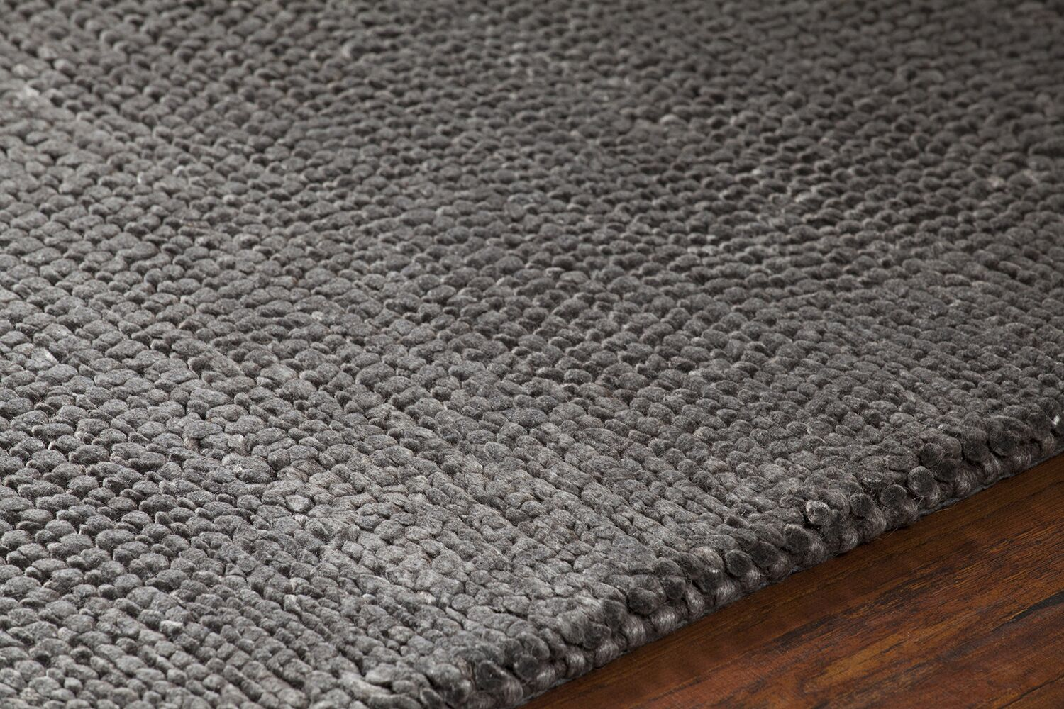 Reanna Hand-Woven Brown Area Rug Rug Size: 9' x 13'