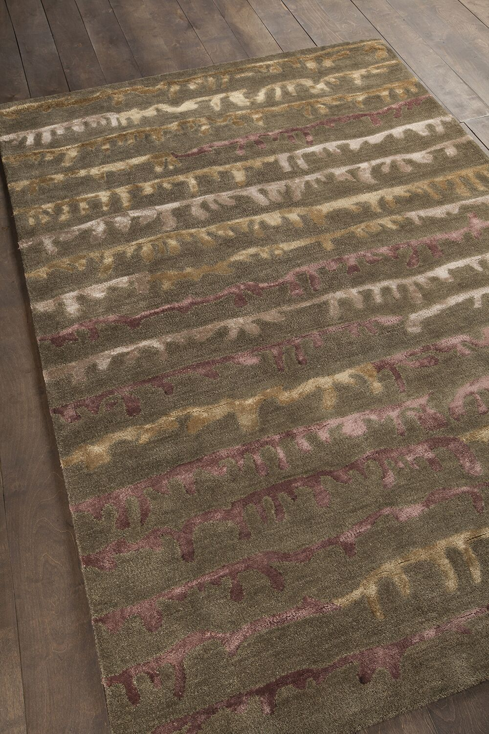 Gaines Brown Area Rug Rug Size: 5' x 7'6