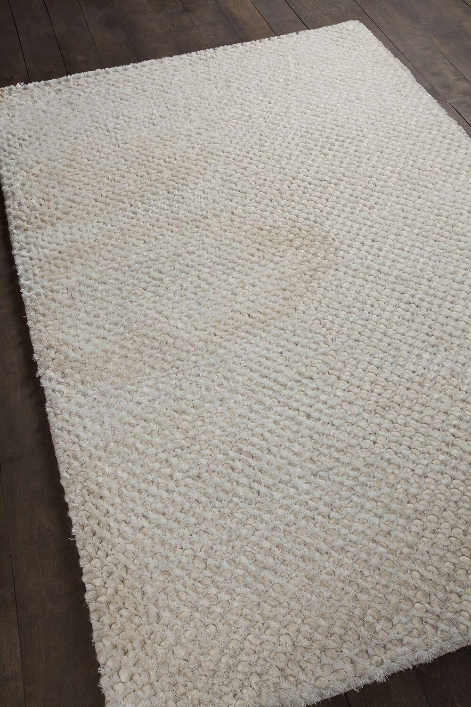 Strata White Area Rug Rug Size: Rectangle 5' x 7'6