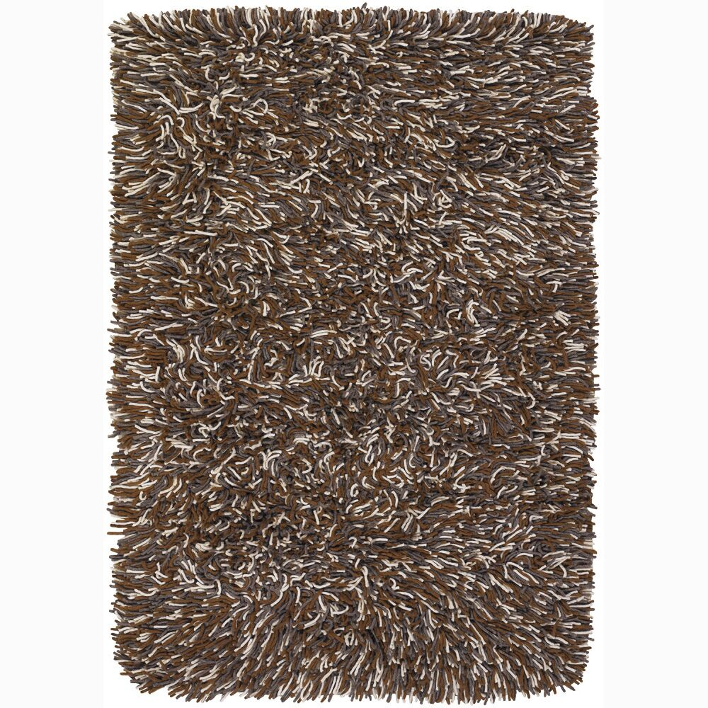 Freddie Brown/Tan Area Rug Rug Size: Rectangle 2' x 3'