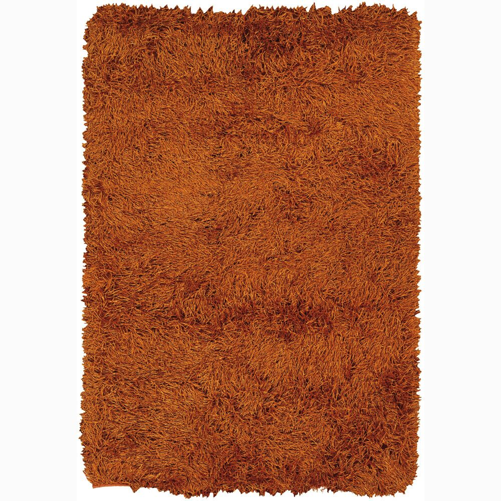 Baptista Brown Solid Area Rug Rug Size: Rectangle 5' x 7'6