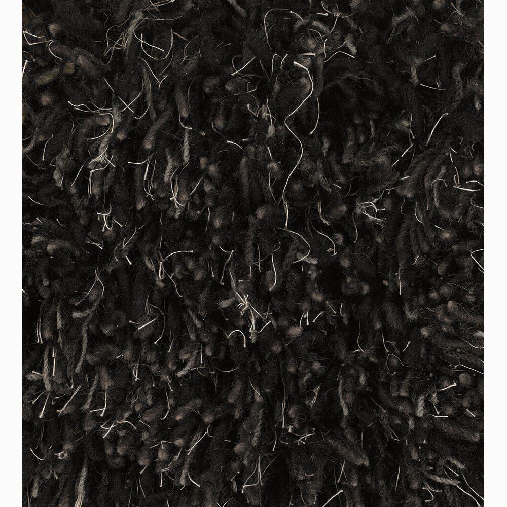 Haddington Black Area Rug Rug Size: Rectangle 2' x 3'