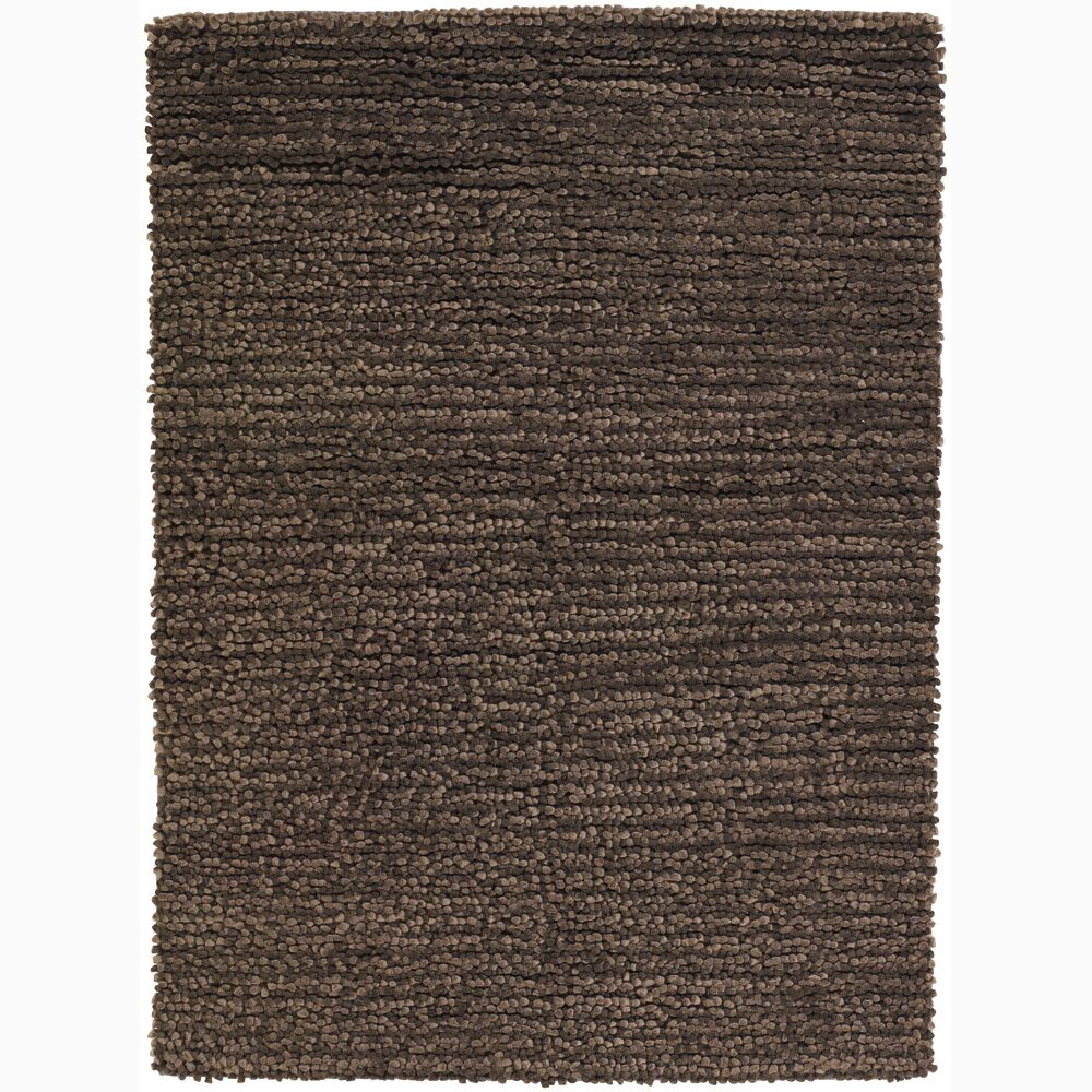 University Place Wool Brown Area Rug Rug Size: Rectangle 5' x 7'6