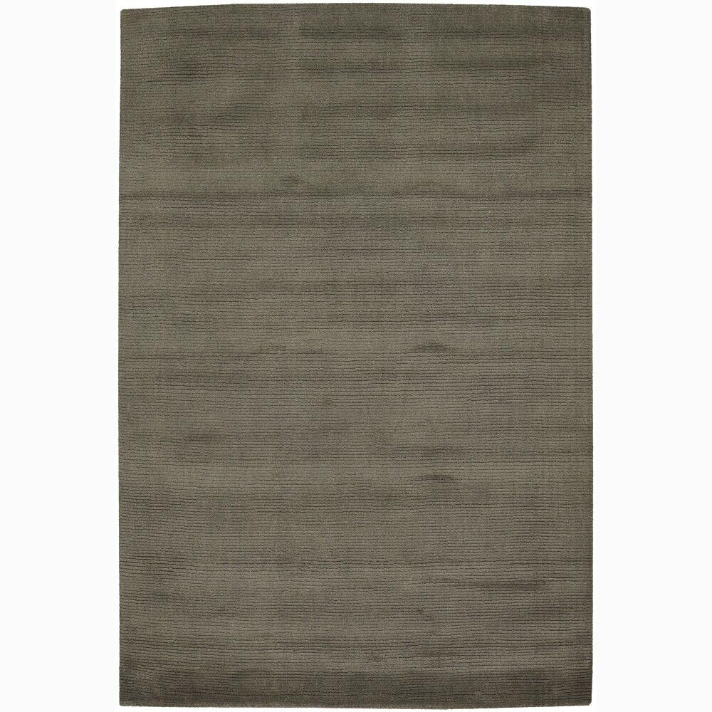 Yiman Gray Solid Area Rug Rug Size: Rectangle 7'9