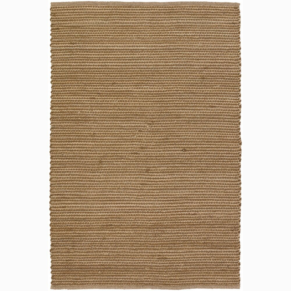Elverson Brown/Tan Stripe Area Rug Rug Size: 5' x 7'6