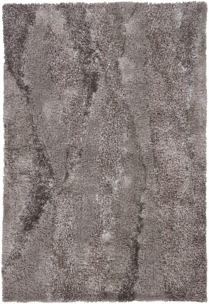 Isidore Shag Gray Area Rug Rug Size: Rectangle 7'9
