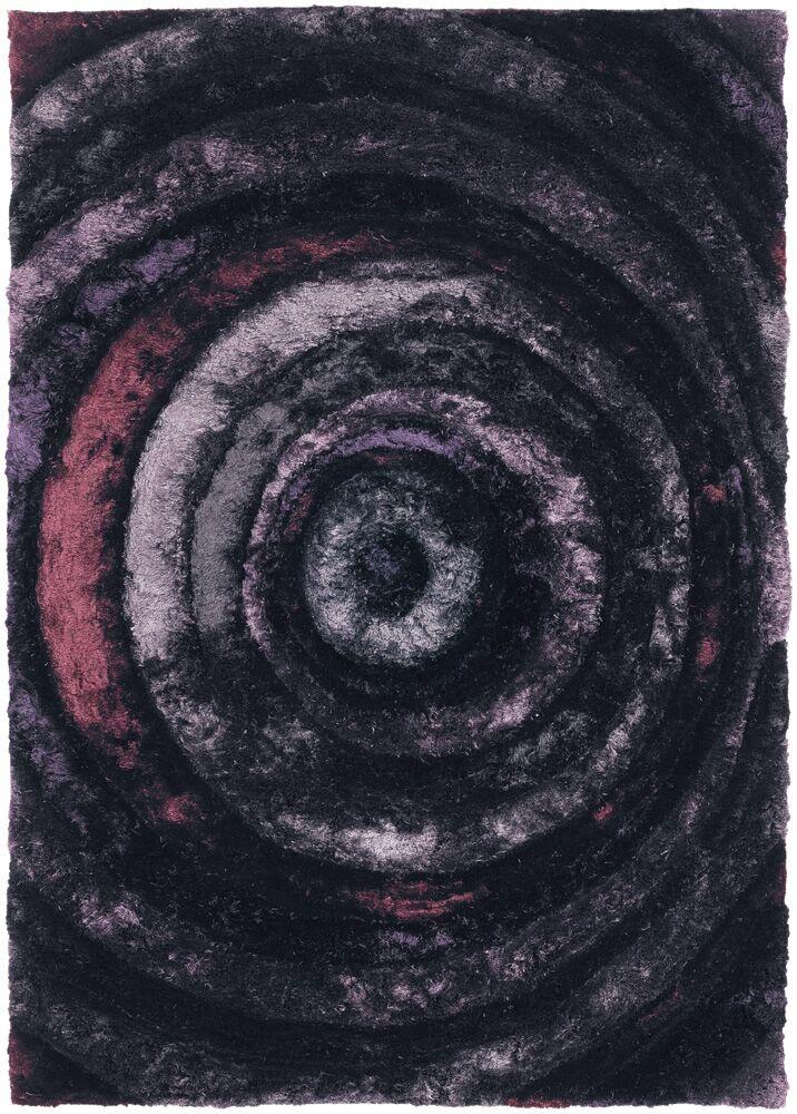 Shag Purple Area Rug Rug Size: 7'9