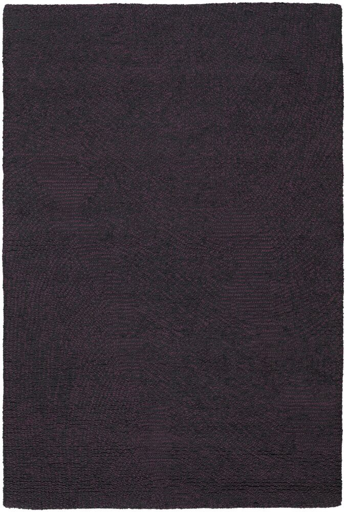 Deana Black/Purple Area Rug Rug Size: 7'9