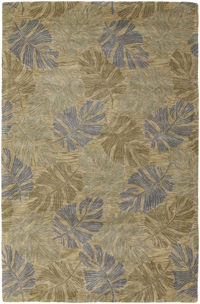 Pierview Brown Area Rug Rug Size: 2' x 3'