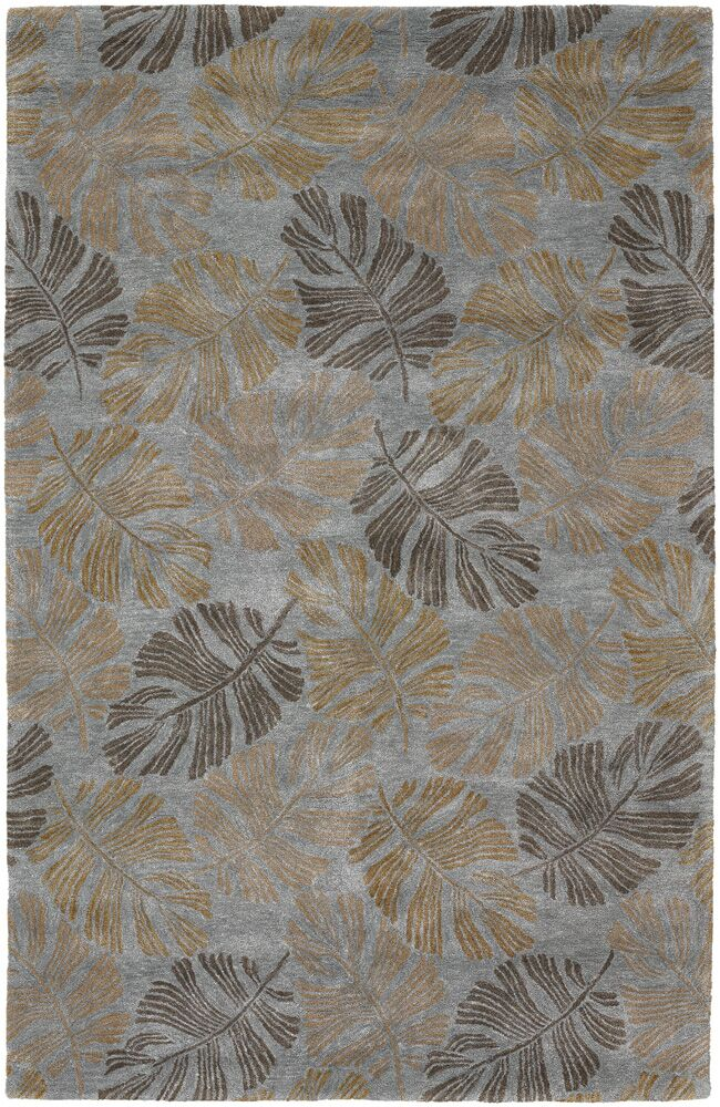 Pierview Tan Area Rug Rug Size: 2' x 3'