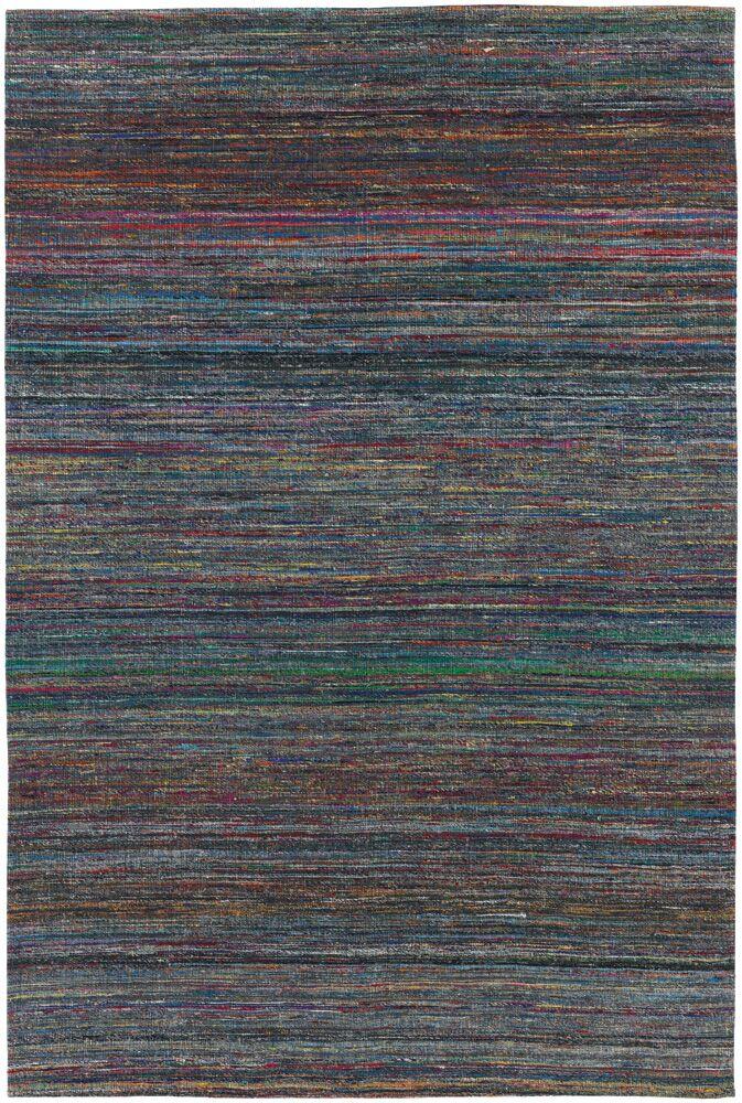 Cabarley Dhurrie Dark Blue Area Rug Rug Size: 7'9