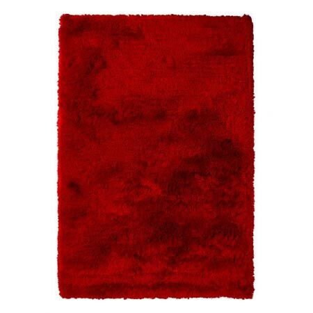 Levy Red Area Rug Rug Size: 7'9