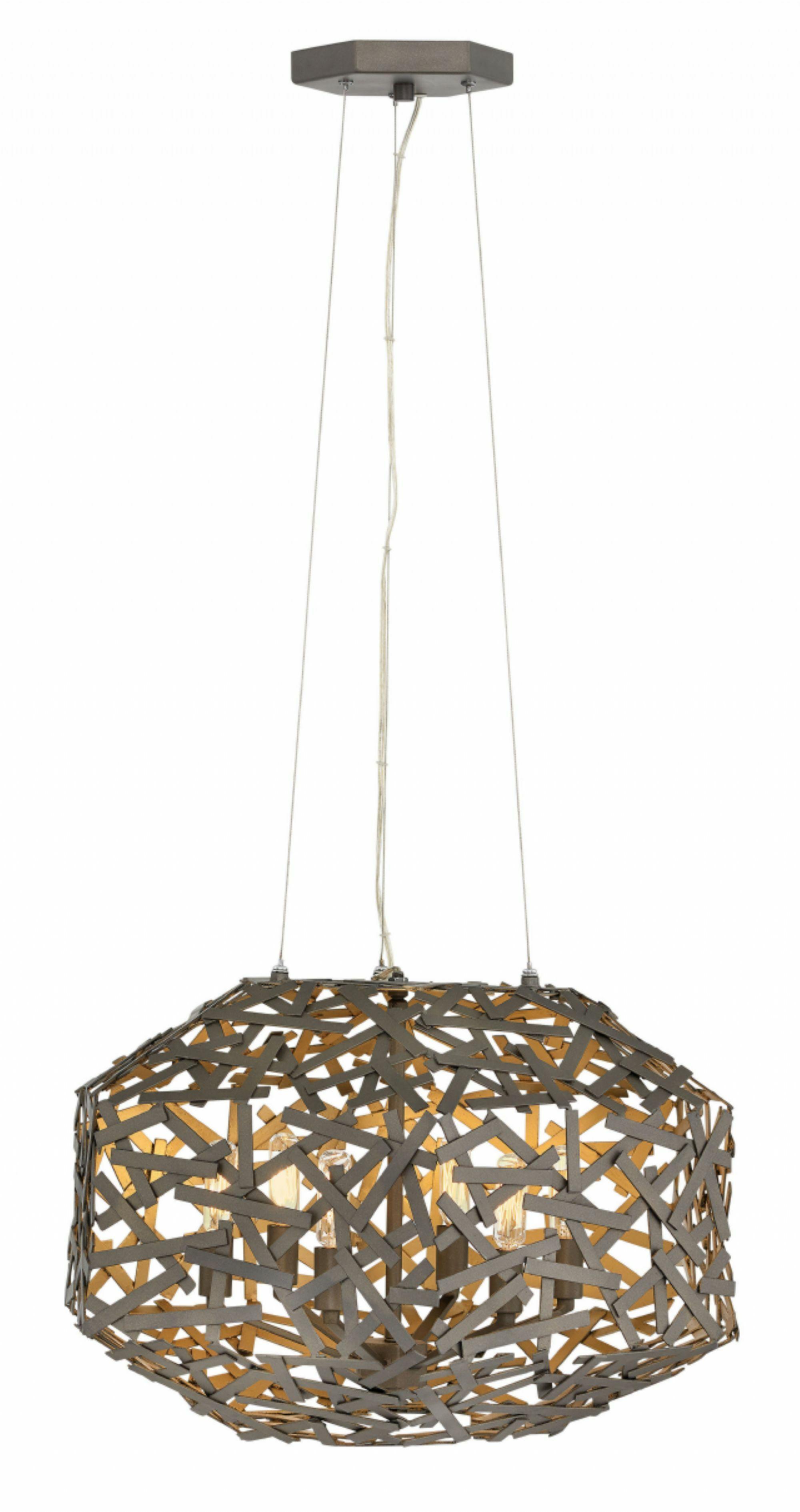 Kestrel 3-Light Geometric Chandelier
