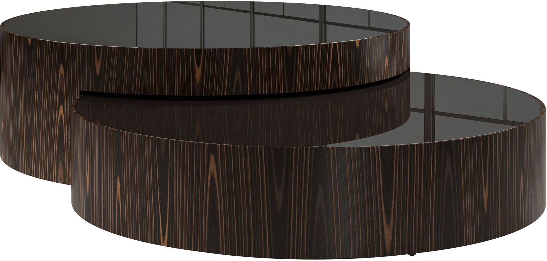 Berkeley 2 Piece Coffee Table Set Color: Cathedral Ebony