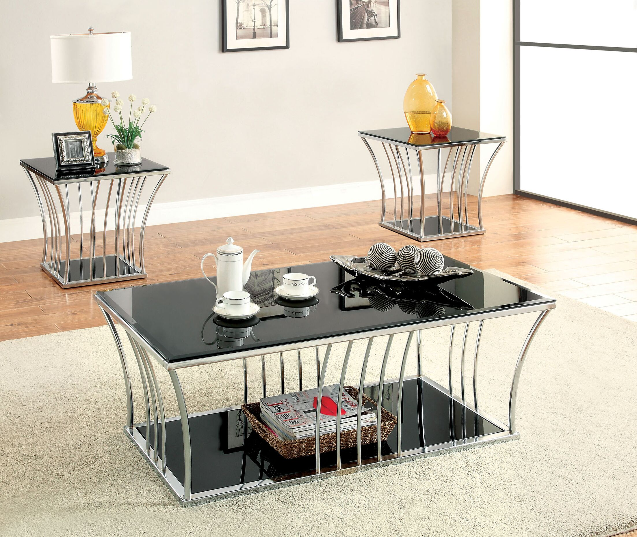 Villaine 2 Piece Coffee Table Set