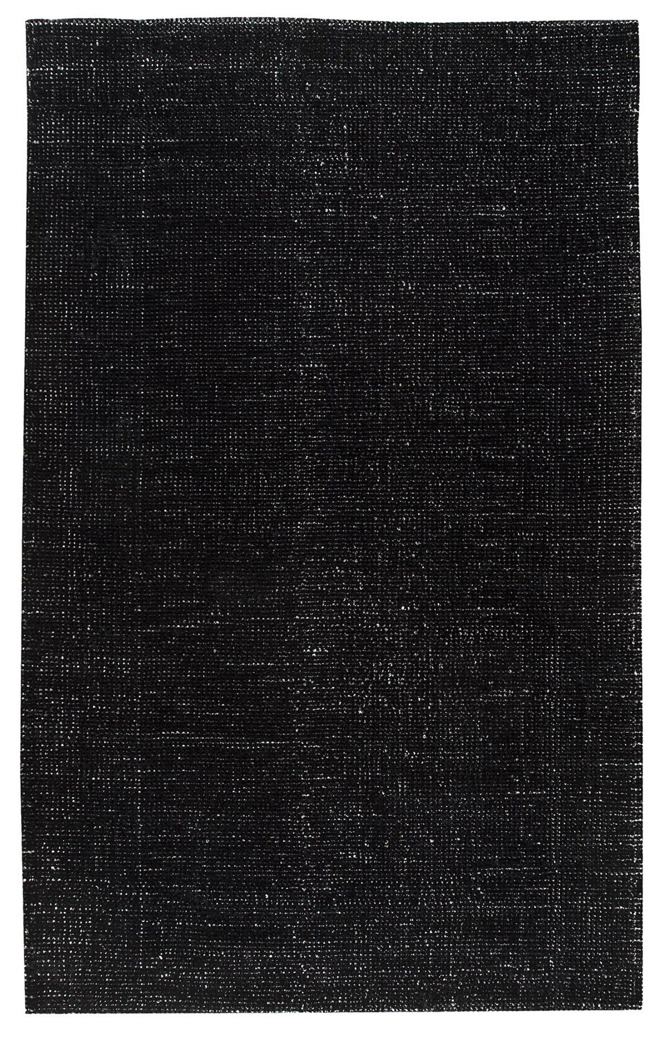 Back Forty Black Area Rug Rug Size: 8' x 10'
