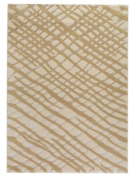 Ace White/Grey Area Rug Rug Size: 5'2