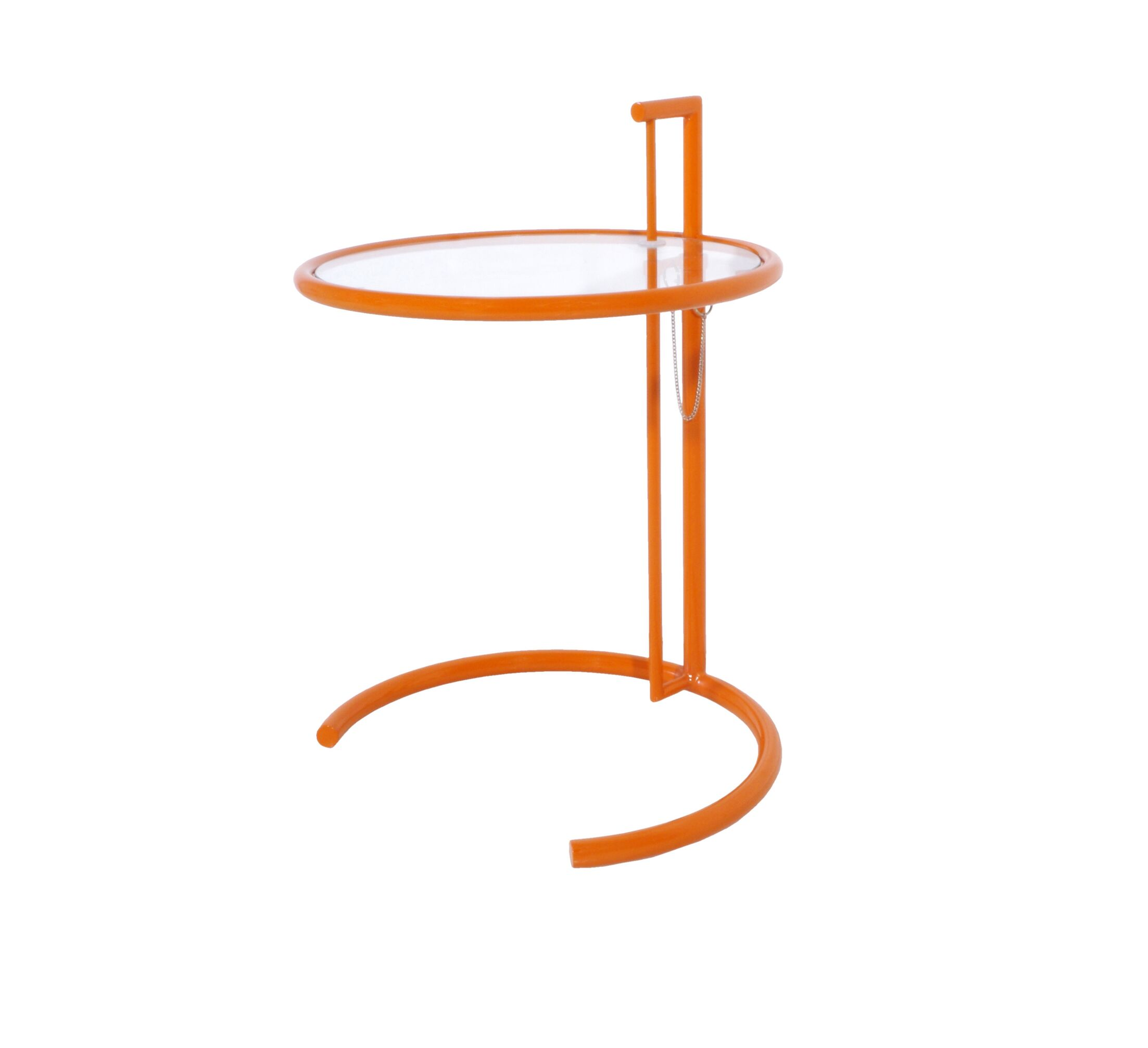 Reiser End Table Color: Orange