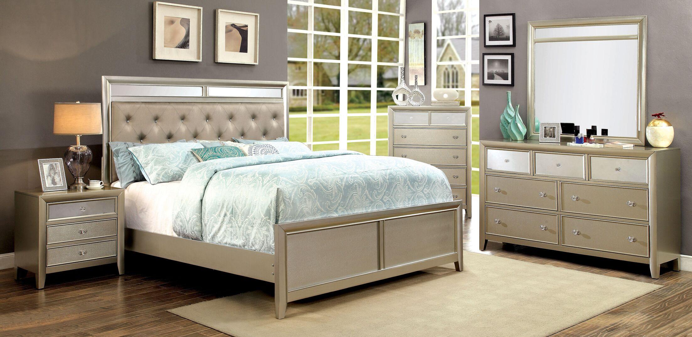 Herve Platform Configurable Bedroom Set