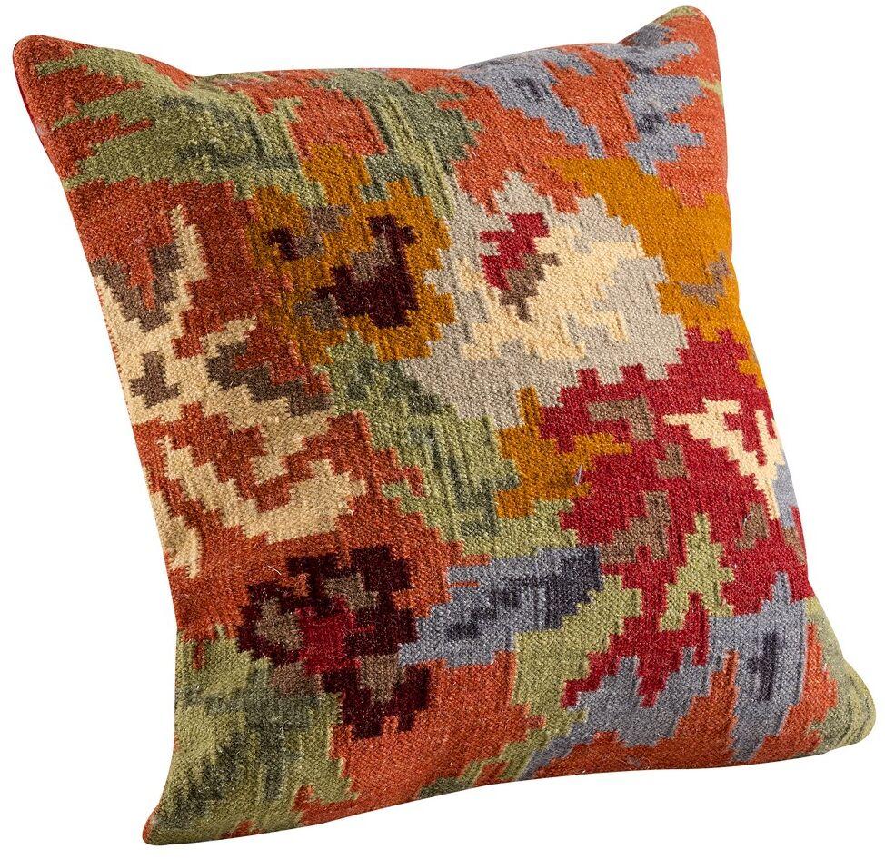 Karba4 Throw Pillow Size: 16